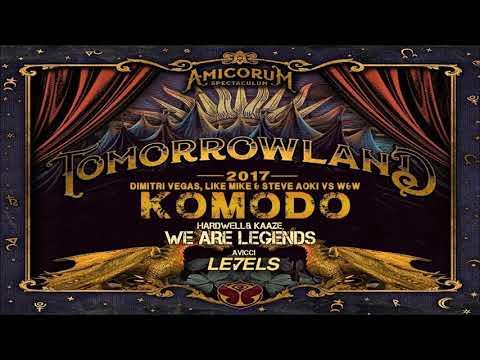 Levels vs Komodo vs Hey Baby vs We Are Legends - (Vercetti Remake) - FakeDj Mashup