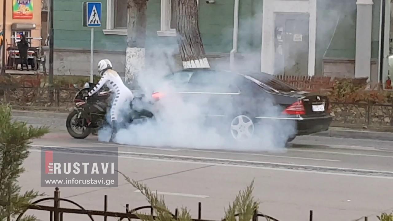 რატომ ააფეთქეს მანქანა  შთამბეჭდავი კადრები რუსთავში ფილმის გადაღებებიდან