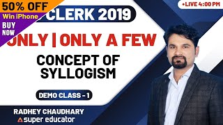 Adda247 SuperEducator - Reasoning by Radhey Sir - Only A Few Concept Of Syllogism - Demo Class1