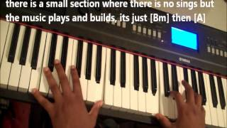 "How to play ""Glorify Your Name"" Israel Houghton Lakewood Church"