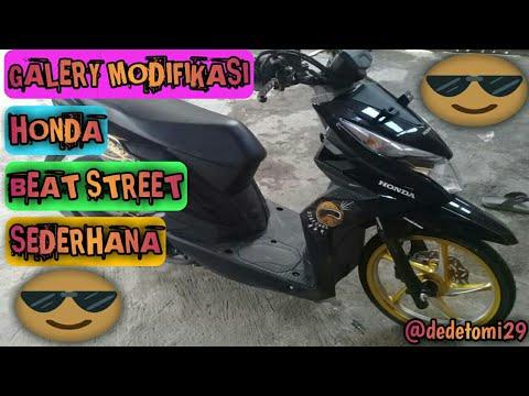 Modifikasi Motor Honda Beat Street 2019 Arena Modifikasi