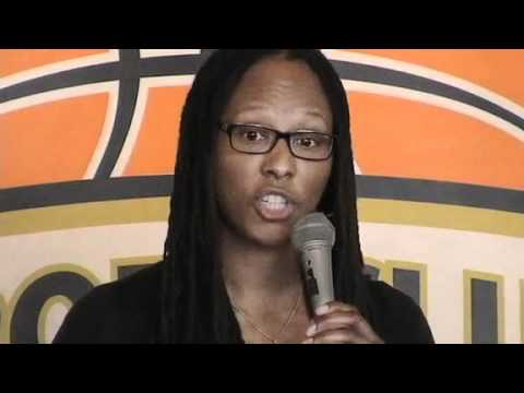 Chamique Holdsclaw talks about her book, My Story