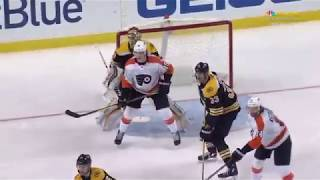 Elegant transmission of Nolan Patrick (Flyers vs Bruins, Mar 8, 2018 • 03:38)