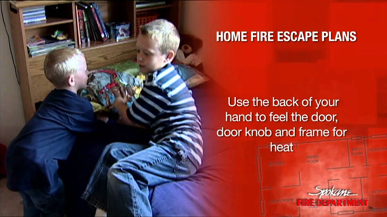 Home fire escape plans youtube for How to make a home fire escape plan