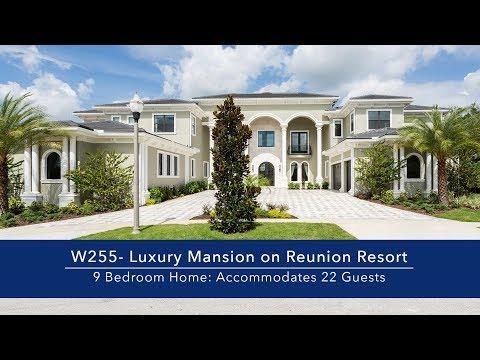 9 Bedroom Luxury Mansion on Reunion Resort