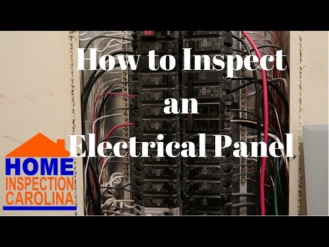 How to Inspect an Electrical Panel