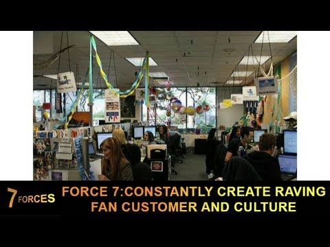 Business Mastery Force 7: Constantly Create Raving Fan Customers and Culture