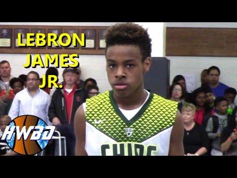 Lebron James Jr. VS Everybody! | 6th Grader Bronny is SMOOTH!!