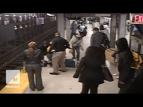 Man pulled to safety after falling into subway tracks in Philadelphia | Mashable