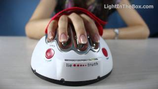 Electric Shock Lie Detector From MiNiInTheBox