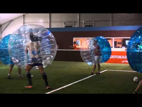 Le rugby au bubble