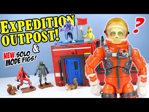 Fortnite Expedition Outpost And Solo Mode Figures Toy Review 2020