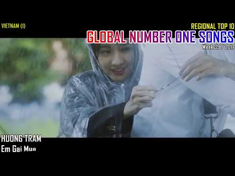 GLOBAL NUMBER ONE SONGS (week 39 / 2017)