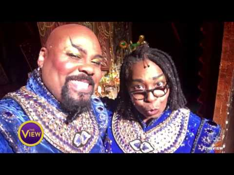 Whoopi Goldberg Surprises 'Aladdin' on Broadway With Genie Performance