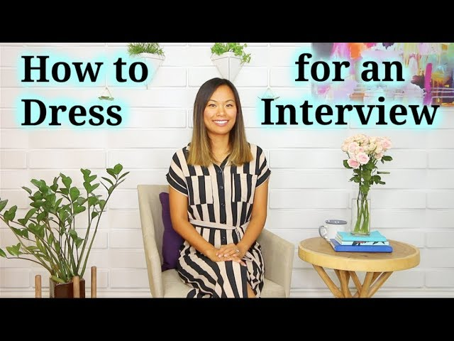 How to Dress for a Job Interview! Do's & Don'ts