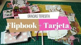 Correo Bonito de Teresa | Flipbook con sobres | Scrapbook