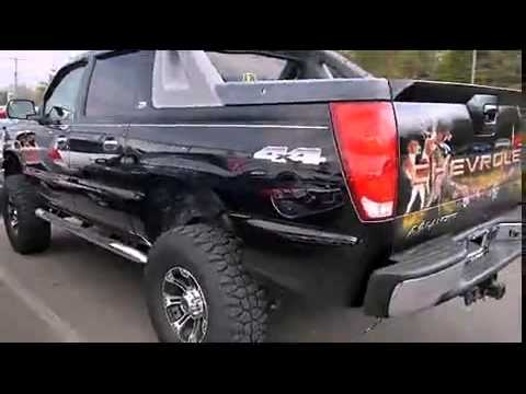 2005 chevrolet avalanche 1500 z71 custom liftwheelspaint youtube sciox Image collections