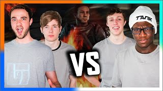 DanTDM & Ali-A vs W2S & CSG - COD:AW - CROSSBOWS ONLY | Legends of Gaming