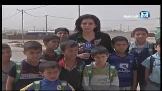 الأطفال السوريون يواصلون التعليم رغم قسوة الحرب والتهجير