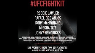 Official UFC Fight Kit Launch