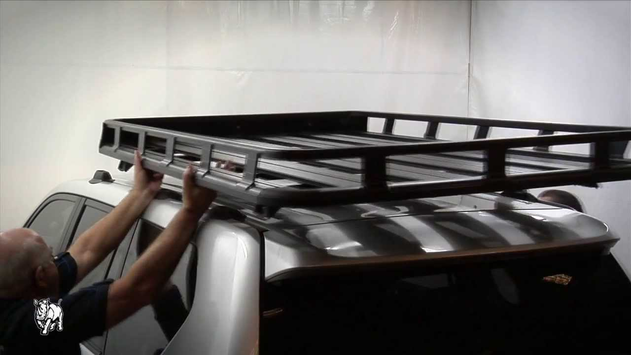 Suburban Roof Rack >> Rhino-Rack | How to fit Pioneer Platform / Pioneer Tray - YouTube