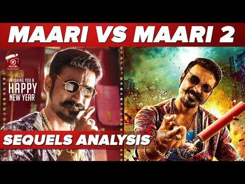 Maari Vs Maari | Maari Sequels Analysis | Dhanush | Roboshankar | Vinod | Balaji Mohan