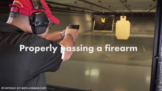 Properly Passing a Firearm