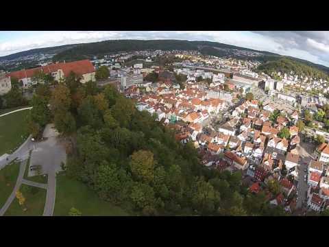 Heidenheim Germany Raw Footage Phantom2 Vision Plus