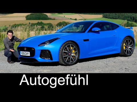 Jaguar sports cars: F-TYPE SVR FULL REVIEW & heritage racing feature OGP