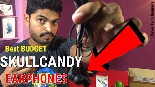 In this video the new Skull candy earphone with good material kanna...