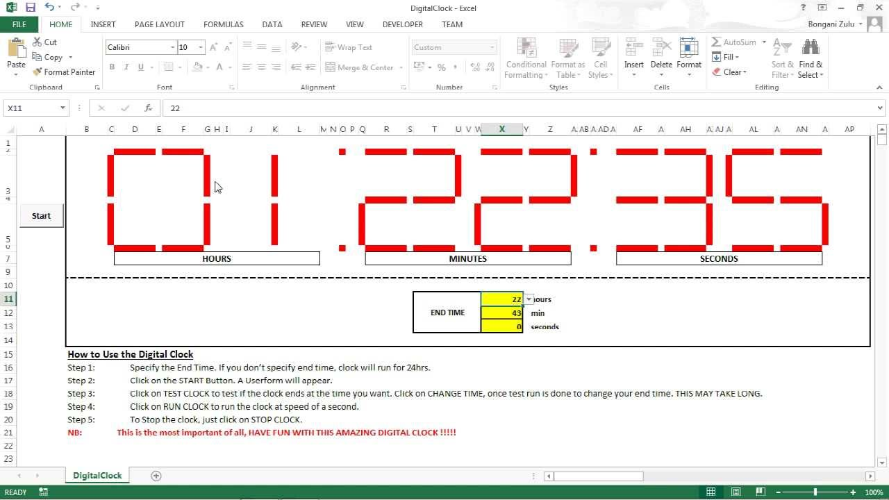 how to add a clock to brightsign