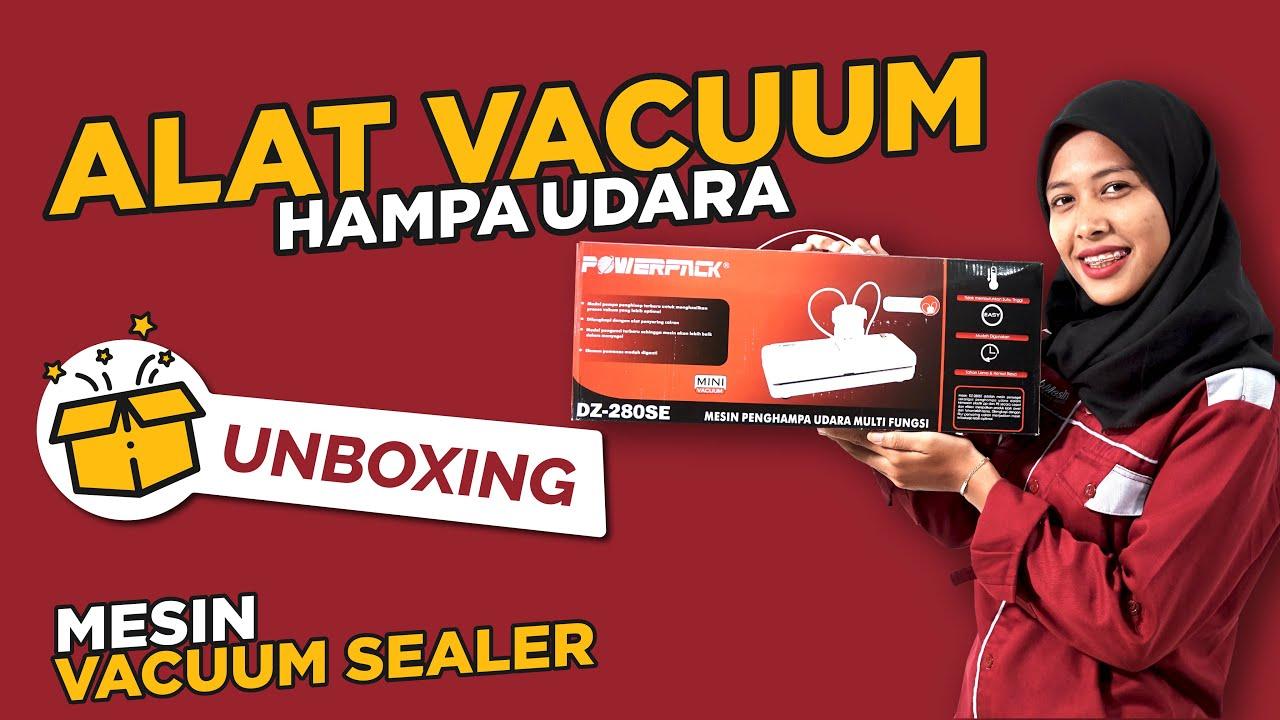 Unboxing Mesin Vacuum Sealer, Alat Vacuum Hampa Udara, 0822 2330 3939