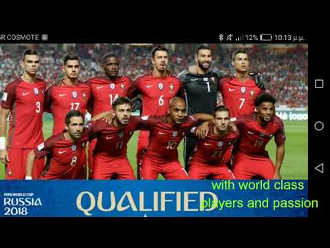 Portugal:the champion of europe a squad for big thinks in Russia