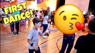 TWEENS FIRST DANCE! be brave & dance with someone!