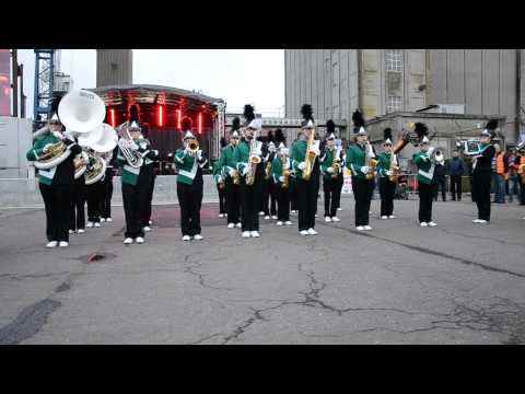 YMCA (Village People) Cork Rebel Week (Ireland) - Bedizzole Marching Band 2013