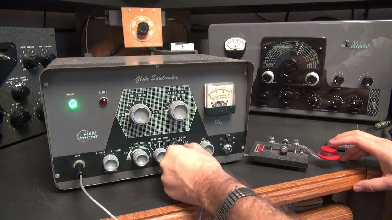 10 450 Khz - CW sur porteuse dorigine Russe - SWL