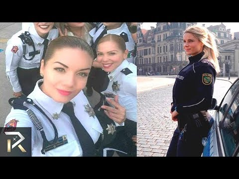 10 Police Officers You'd Be Glad To Be Arrested By