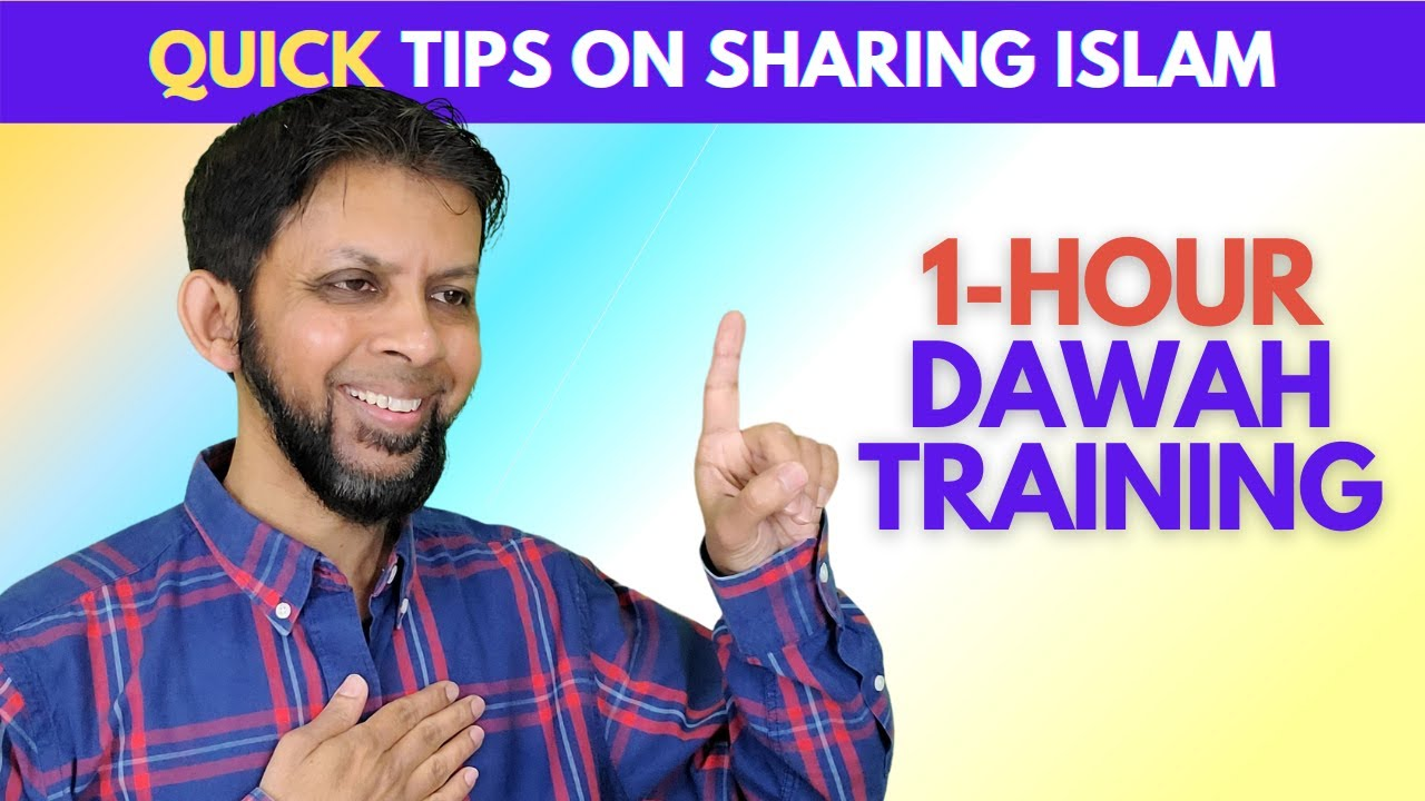 Download 1-Hour Dawah Training - Learn *Quickly* on How to Share Islam   Dr. Sabeel Ahmed