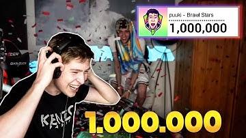 1.000.000 ABONNENTEN SPENDEN + 5000€ GIVEAWAY • Brawl Stars deutsch