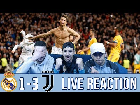 MADRID FAN REACTS TO: JUVE 1-3 WIN OVER MADRID