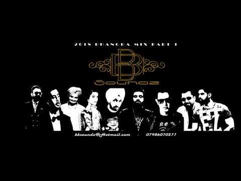 Dj Sunny 2018 Bhangra Mix  Mega Hits  Remix