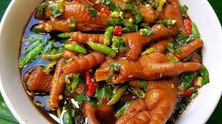 กับข้าวกับปลาโอ 502 : ซุปเปอร์ตีนไก่สูตรเข้มข้น แซ่บซี๊ดถึงทรวง Spicy Chicken feet Soup