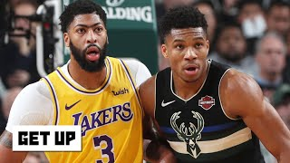 Jay Williams breaks down Giannis Antetokounmpo's 3-pointers vs. the Lakers | Get Up