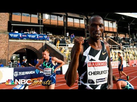 Cheruiyot and Ingebrigtsen battle to final steps of Stockholm 1500m | NBC Sports