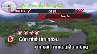 Karaoke Co Ua _ Song Ca Lo Lem