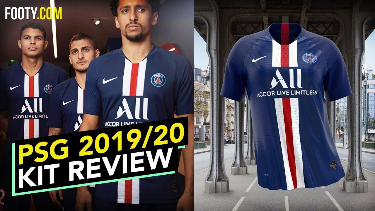 Psg X Jordan 2019 20 4th Shirt Kit Review Youtube