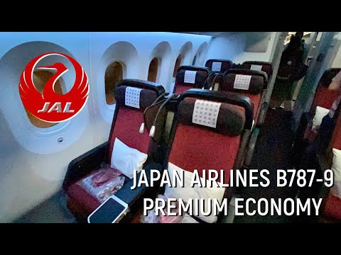 WORTH THE UPGRADE?? Japan Airlines B787-9 Premium Economy Review