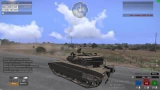 ArmA 3. Сбить самолёт с танка?