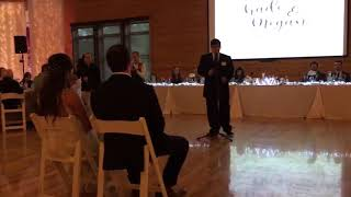 """12 year old sings Thomas Rhett's, """"Marry Me"""" to the Bride!!"""