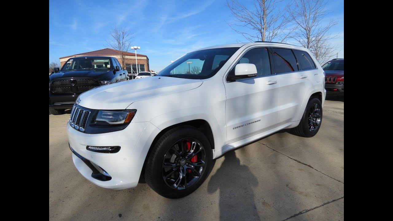 Awesome 2014 Jeep Grand Cherokee SRT Start Up, Exhaust, And In Depth Review    YouTube